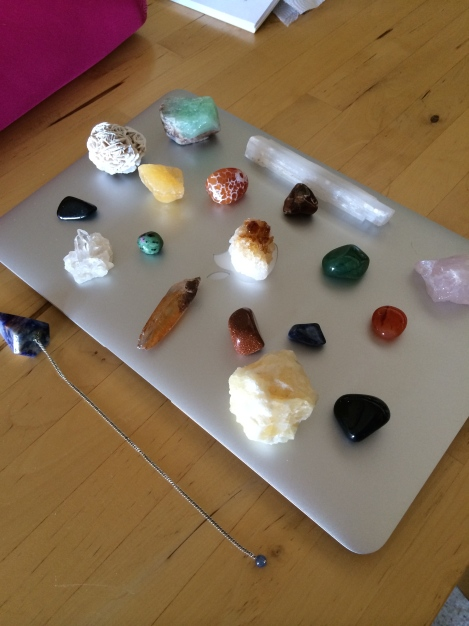 Creativity Crystal Grid atop this laptop...