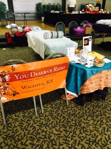 The Alternative & Holistic Fair January/February 2015! The year of fairs is off to a good start! Here's the YDR booth.