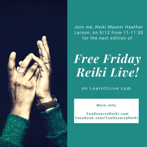 Free Friday Reiki Live!-2