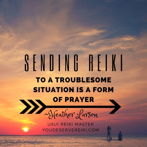 to a troublesome situation is a form of prayer